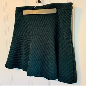 Loft fit and flare skirt -S
